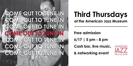 Third Thursdays at the American Jazz Museum tickets