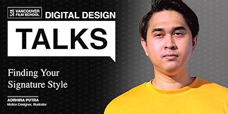 VFS Digital Design Talks featuring Ardhira Putra tickets