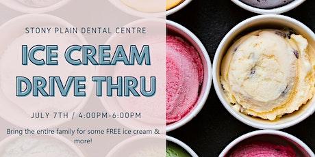 Ice Cream Drive Thru tickets