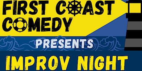 First Coast Comedy Presents: Improv Comedy Night tickets