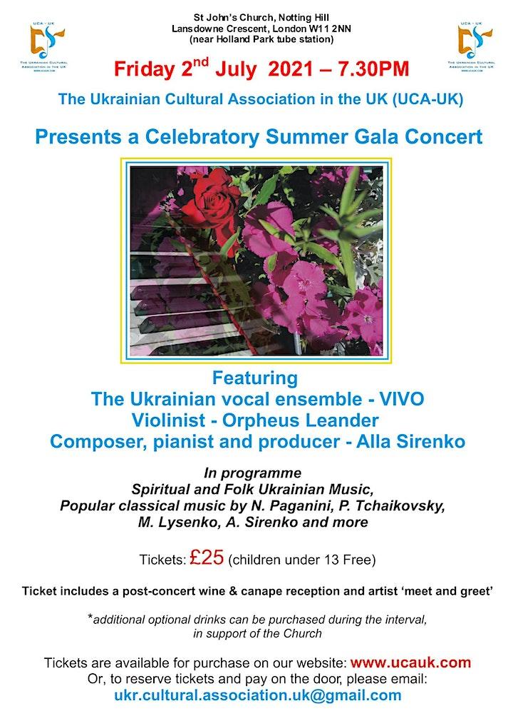 Summer Gala Concert image