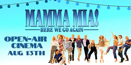 Mamma Mia! Here We Go Again Open-air Cinema with Late Night Bar tickets