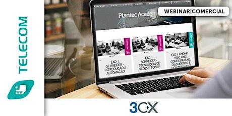 WEBINAR|3CX -  BOAS PRÁTICAS bilhetes