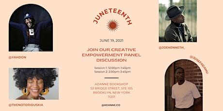 Adanne Bookstore Juneteenth Empowerment  Event tickets