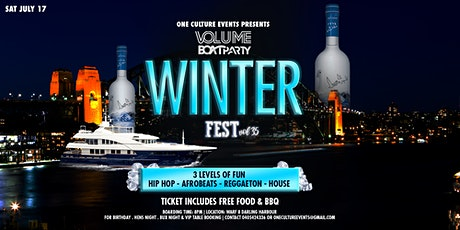 VOLUME BOAT PARTY  Winter Fest Vol35 tickets