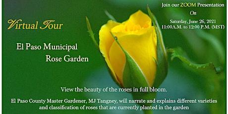 El Paso Municipal Rose Garden Virtual Tour tickets