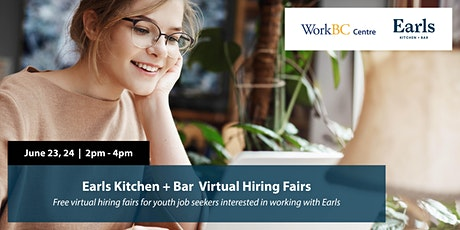 Earls Kitchen + Bar Virtual Hiring Fairs tickets