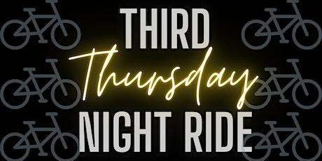 Third Thursday Night Ride tickets