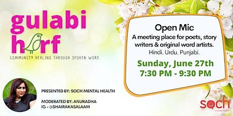 Gulabi Harf - Community Healing Through Spoken Word tickets