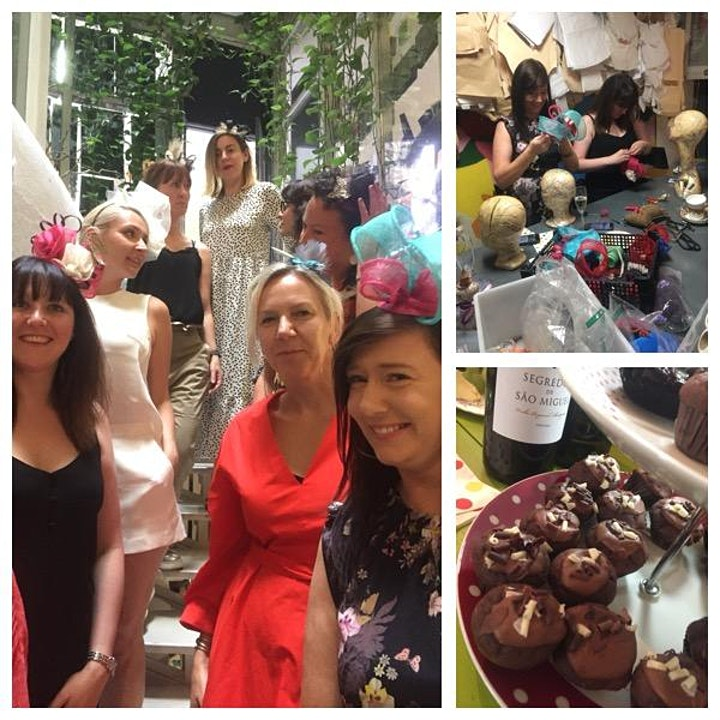 Millinery Class with  Tea Treats - Temple Bar image