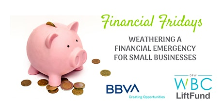 Financial Fridays: Weathering a Financial Emergency for Small Businesses tickets