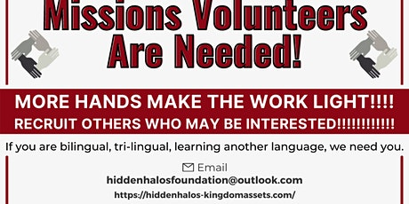 CALLING MISSIONS VOLUNTEERS tickets