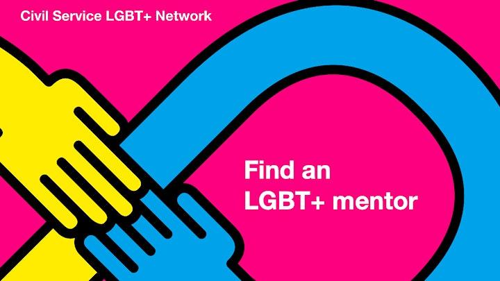 Civil Service LGBT+ mentoring programme:induction for mentees image