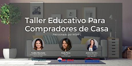 Taller Educativo Para Compradores De Casa tickets