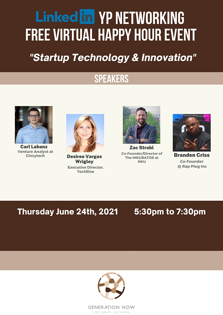 LinkedIn YP Networking: Startup Technology and Innovation FREE image