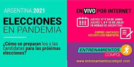 Elecciones en Pandemia . Argentina 2021 entradas