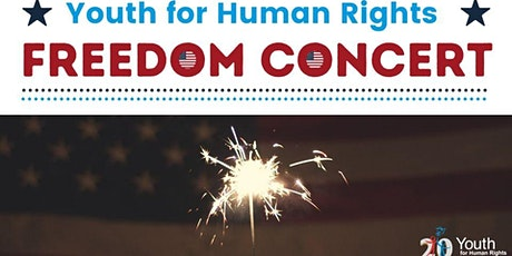 Youth for Human Rights Freedom Concert for July 4th tickets