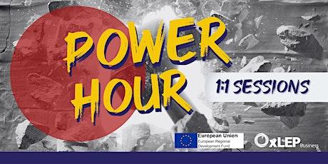 """PR"" Power Hours tickets"