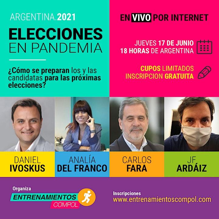 Imagen de Elecciones en Pandemia . Argentina 2021