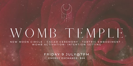 WOMB TEMPLE: New Moon Cacao Ceremony, Circle + Tantric Embodiment Journey tickets
