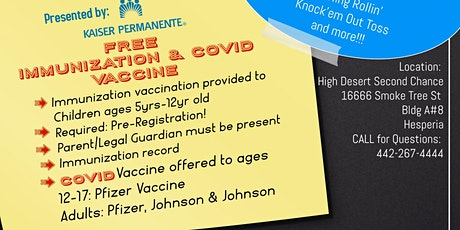 Back2School Food Drive & Back2School Immunization Clinic tickets