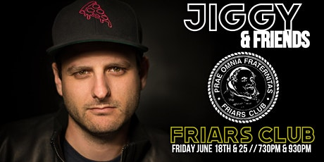Jiggy & Friends at the Friars tickets