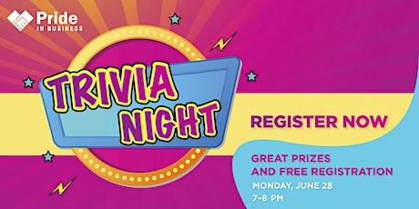 Pride In Business: Trivia Night! tickets