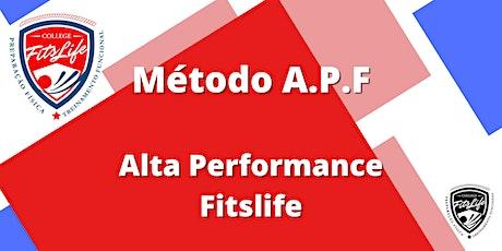 Método A.P.F ingressos