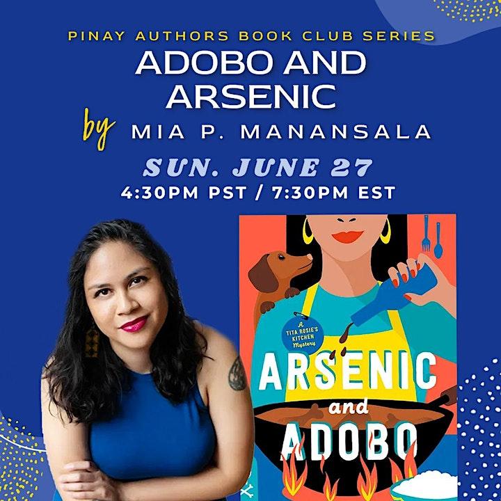 Filipina Authors Book Club: Arsenic and Adobo by Mia P. Manansala image