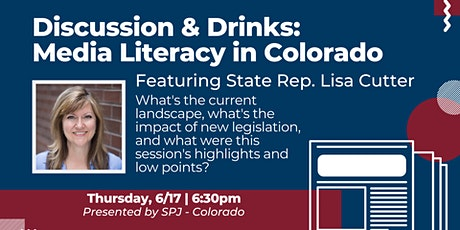 Drinks & Discussion: Colorado Media Literacy tickets