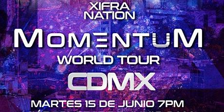 XIFRA MOMENTUM WORLD TOUR CDMX boletos