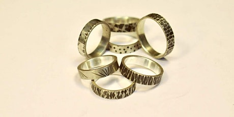 Learn how to make a metal ring - DIY Ring Making Jewelry Class Beginners tickets