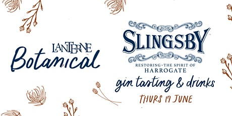 Slingsby Gin - Spirit of Harrogate Tasting tickets