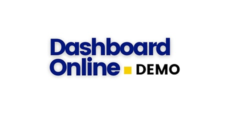 Dashboard Online Demo tickets