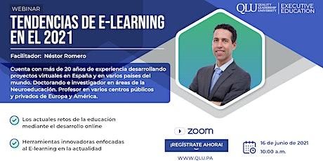 Webinar: Tendencias de E-Learning en el 2021 tickets