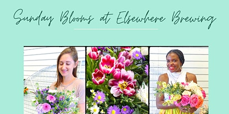 Sunday Blooms at Elsewhere Brewing entradas