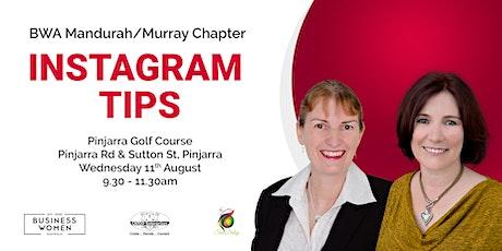 Mandurah / Murray, Business Women Australia: Instagram Tips tickets