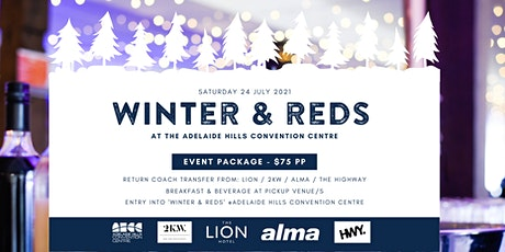 Winter & Reds at the Adelaide Hills Convention Centre tickets