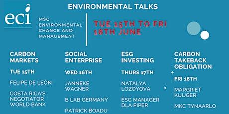 Environmental Talks tickets