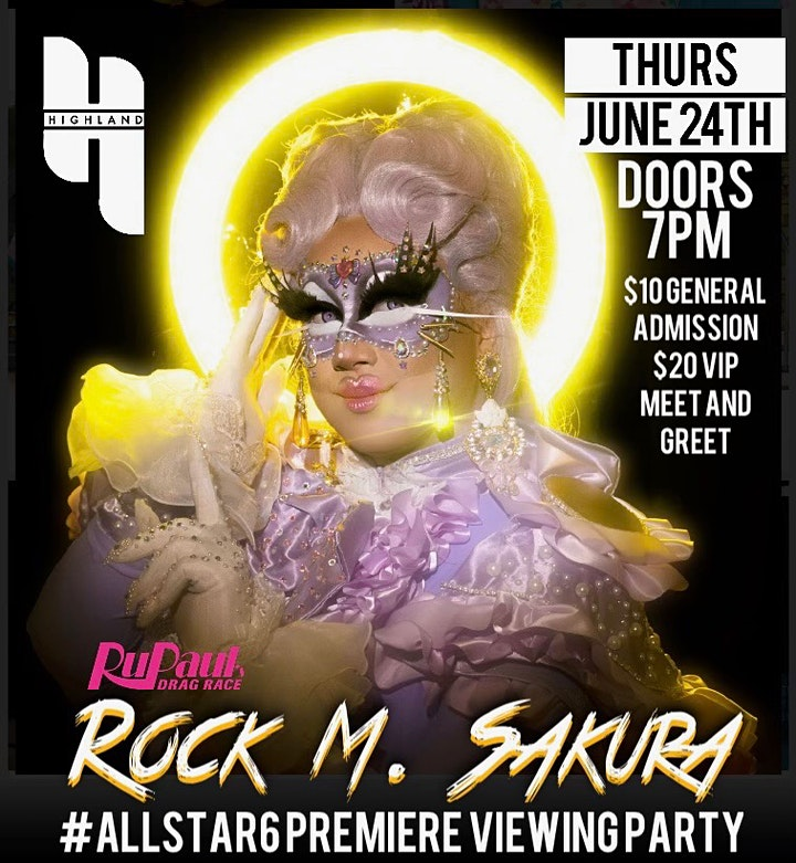 All Stars 6 Premier Viewing Party With Rock M. Sakura image