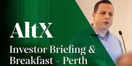 Perth Investor Breakfast – Learn about investing in Real Estate Debt tickets