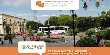 Foros Nuevo León Mañana: D. Social -Discriminación, otra forma de violencia biglietti