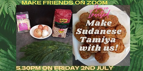 SANCTUARY COOKALONG: Make Sudanese Tamiya (fried chickpea balls) on ZOOM tickets