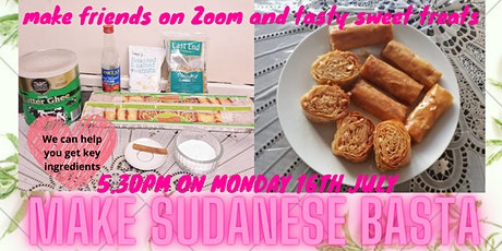 SANCTUARY COOKALONG series: Make Sudanese Basta Sweets on ZOOM tickets