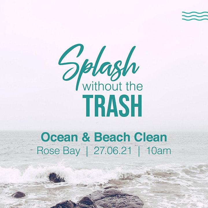 Splash without the Trash - Ocean and Beach Clean image