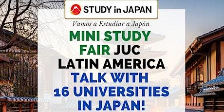 Japanese University Consortium Study Fair America Latina tickets