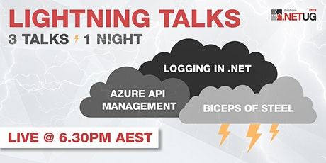 June User Group: 3 Lightning Talks, 1 Big Tech night! (Brisbane) tickets