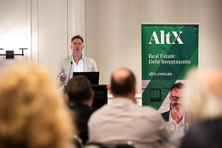Event Postponed- Brisbane  Investor Breakfast–Investing in Real Estate Debt image