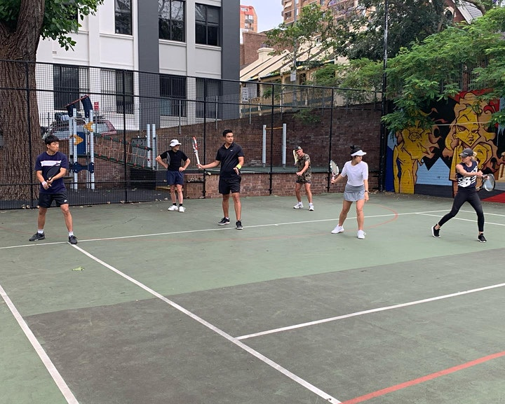 Community Mental Well-being Tennis Program -  Woolloomooloo  NSW image