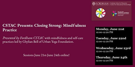 Closing Strong: Mindfulness Practice tickets